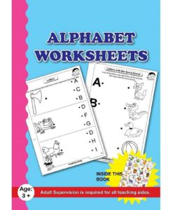 Alphabet Worksheets with sticker chart