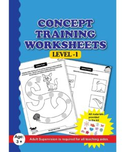 Concept Training Worksheets with Craft Material