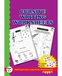Cursive Writing Worksheets with Craft Material