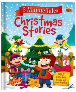 Five Minute Tales Chistmas Stories by Igloo Books 9781786706737 front cover (1)