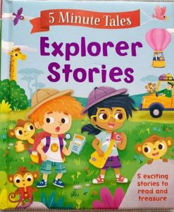 Five Minute Tales Explorer Stories Igloo Books Front Cover 9781786704856 (1)