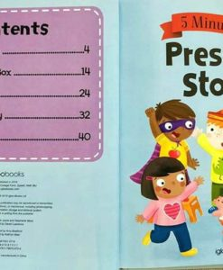 Five Minute Tales Preschool Stories Igloo Books 9781786704726 Index Contents Page
