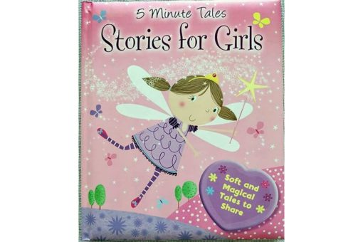 Five Minute Tales Stories for Girls Cover 9780857802712 (1)