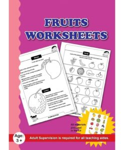 Fruits Worksheets with craft material