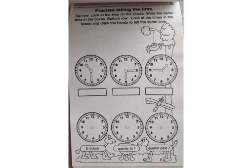 Action Fun Pads Tell The Time