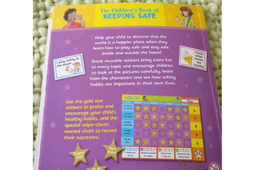 Childrens Book of Keeping Safe Back cover