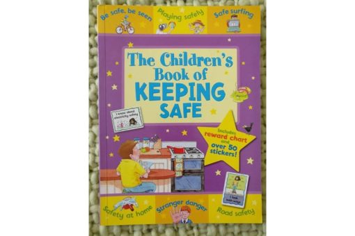 Childrens Book of Keeping Safe Cover2