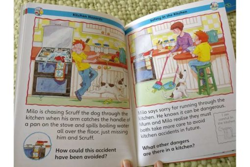 Childrens Book of Keeping Safe Inside2