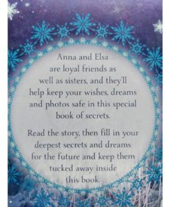 Disney Frozen Anna and Elsas Book of Secrets back cover