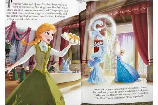 Disney Frozen Anna and Elsas Book of Secrets inside1