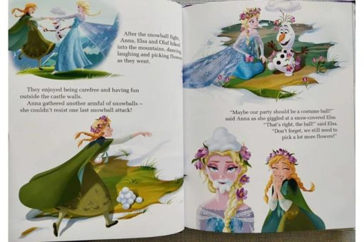 Disney Frozen Anna and Elsas Book of Secrets inside2
