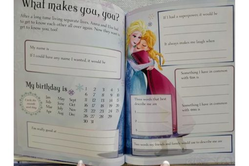 Disney Frozen Anna and Elsas Book of Secrets inside4