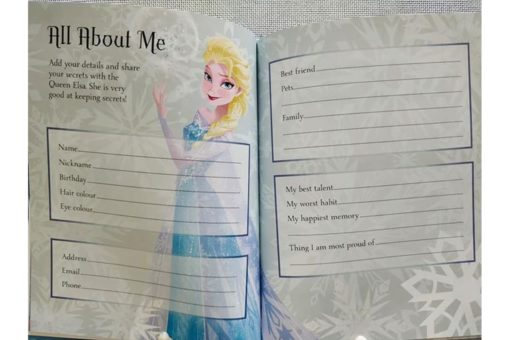 Disney Frozen Elsas Book of Secrets inside3
