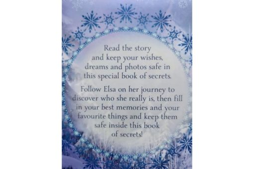 Disney Frozen Elsas Book of Secrets last page