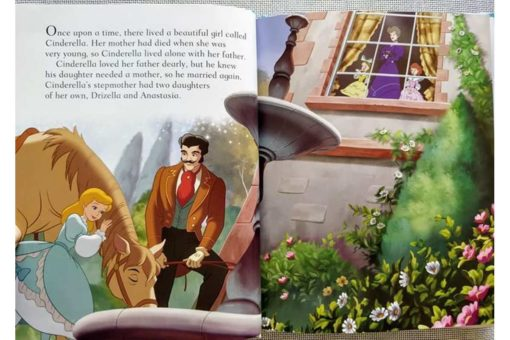 Disney Princess Cinderellas Book of Secrets inside1