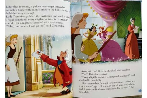 Disney Princess Cinderellas Book of Secrets inside2