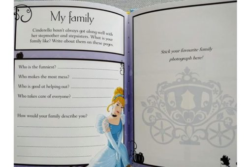 Disney Princess Cinderellas Book of Secrets inside5