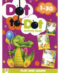 Dot to Dot Activity Book 1-30