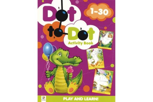 Dot to Dot Activity Book 1-30