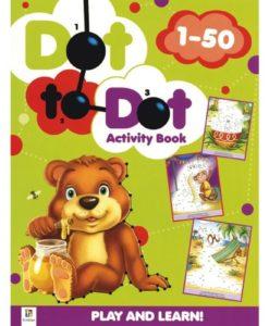 Dot to Dot Activity Book 1-50