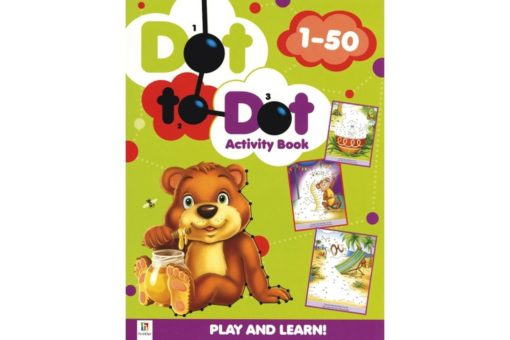 Dot to Dot Activity Book 1-50