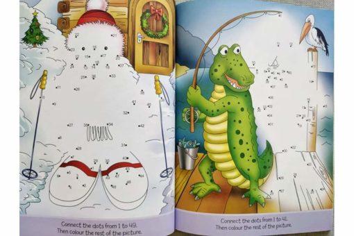 Dot to Dot Activity Book 1-50 inside
