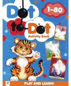 Dot to Dot Activity Book 1-80