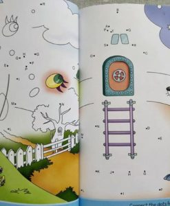 Dot to Dot Activity Book ABC Inside
