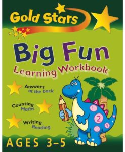 Big Fun Learning Workbook Ages 3-5