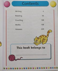 Gold Stars Workbooks Big Fun Learning Workbook (Ages 3-5) Inside1