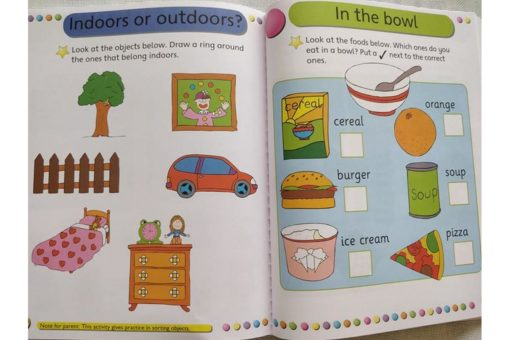 Gold Stars Workbooks Big Fun Learning Workbook (Ages 3-5) Inside14