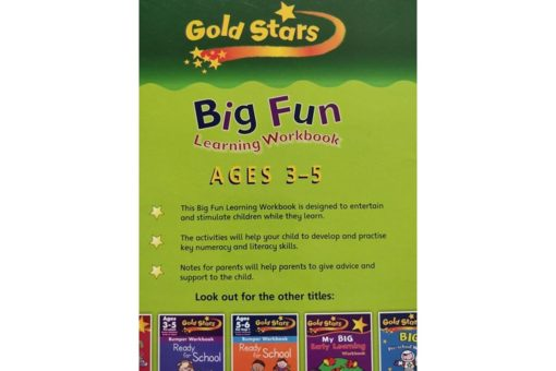 Gold Stars Workbooks Big Fun Learning Workbook (Ages 3-5) Inside15