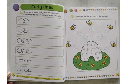 Gold Stars Workbooks Big Fun Learning Workbook (Ages 3-5) Inside4