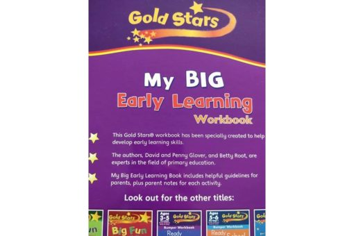 Gold Stars Workbooks My Big Early Learning Workbook 9781472366795 back cover