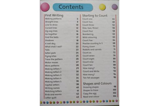 Gold Stars Workbooks My Big Early Learning Workbook Inside1