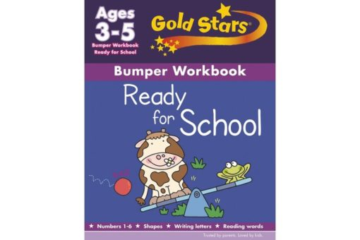 Gold Stars Workbooks Ready For School Bumper Workbook 9781472366771 ages 3 - 5