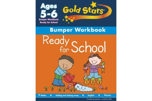 Gold Stars Workbooks Ready for School Bumper Workbook Ages 5-6
