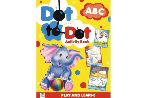 Dot to Dot Activity Book ABC