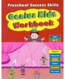 Preschool Success Skills – Genius Kids Workbook