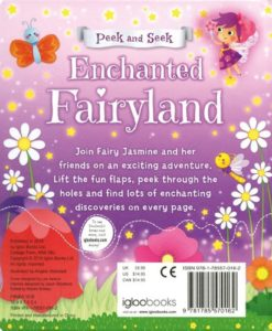 Peek and Seek Enchanted Fairyland 9781785570162 backside