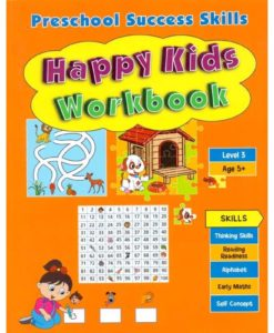 Preschool Success Skills – Happy Kids Workbook