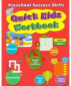 Preschool Success Skills – Quick Kids Workbook