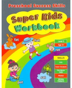 Preschool Success Skills Super Kids Workbook