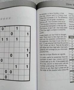 Puzzle Time Large Print Sudoku Purple