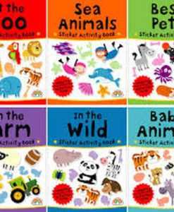 Sticker Activity Suitcase Animals All titles