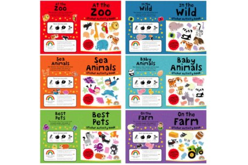 Sticker Activity Suitcase Animals All titles2 9781909090071