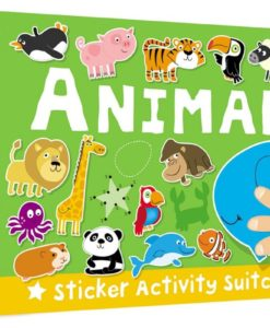 Sticker Activity Suitcase Animals Cover