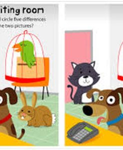 Sticker Activity Suitcase Animals Inside3