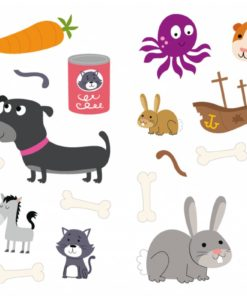 Sticker Activity Suitcase Animals Inside5