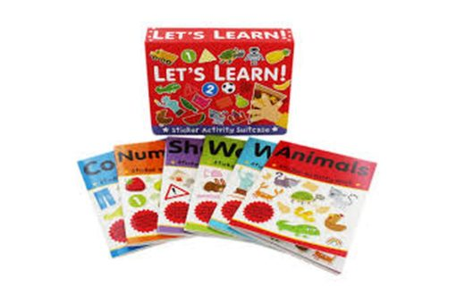 Sticker Activity Suitcase Lets Learn All Titles (2)
